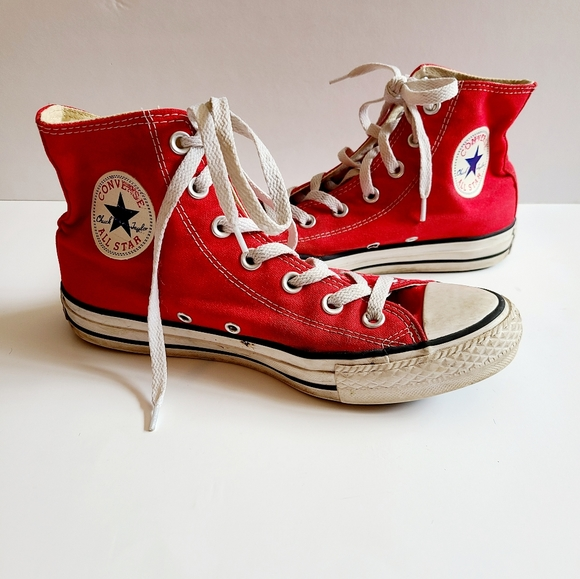 red converse womens size 8
